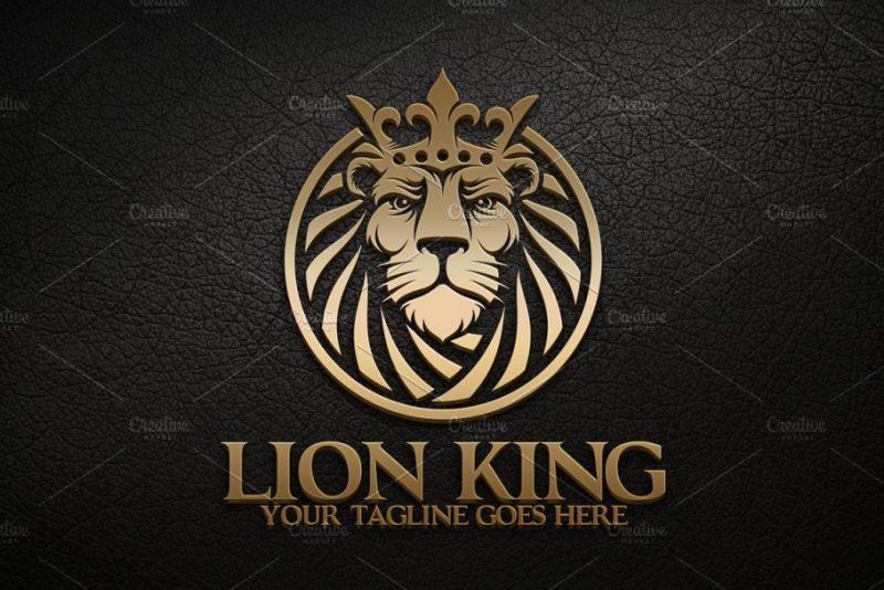 Lion King Logo Sample