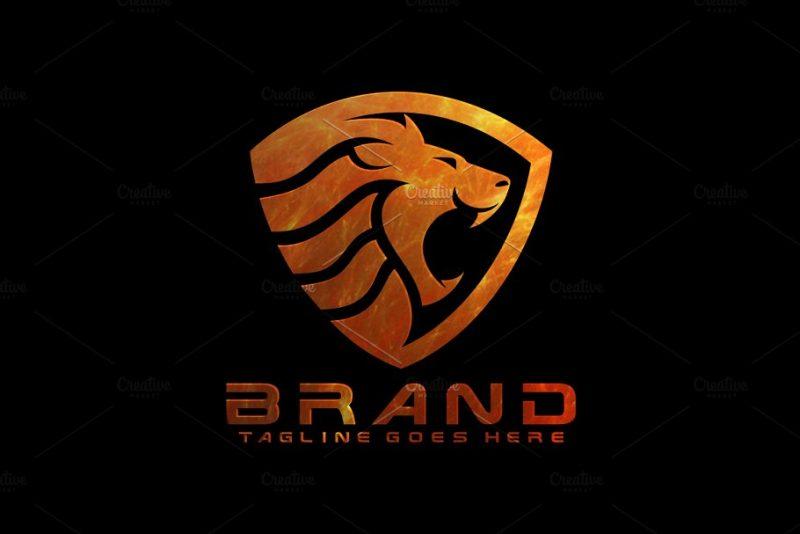Lion Shield Brand Identity
