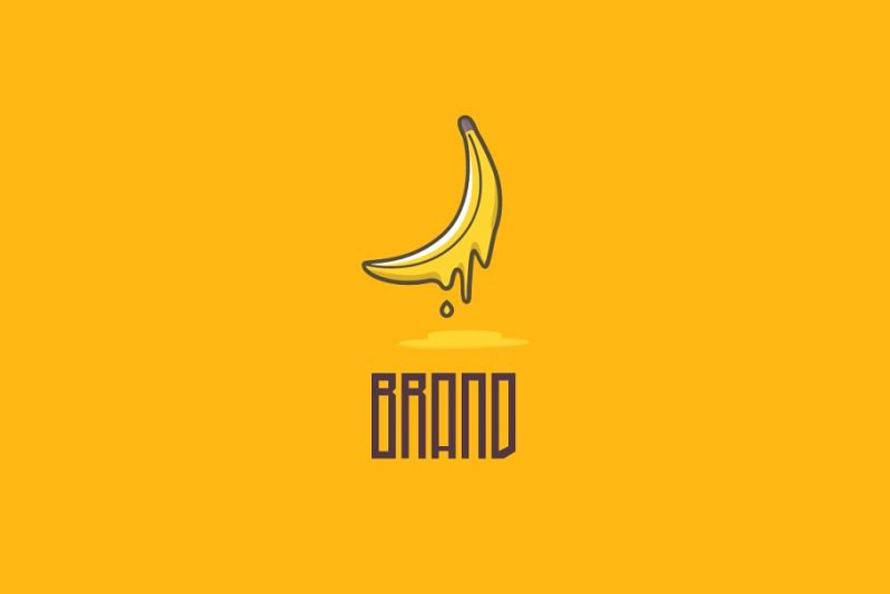 Liquid Banana Logo Idea
