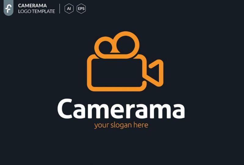 Modern Camera Logo Template