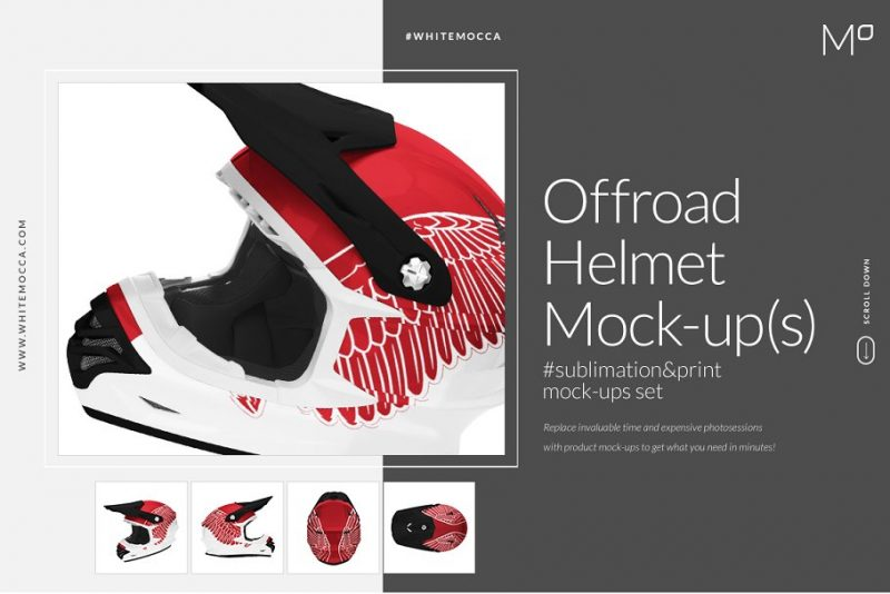 Off Road Helmet Mockups