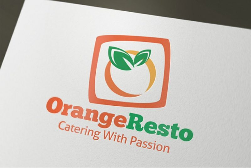 Orange Logo Design Idea