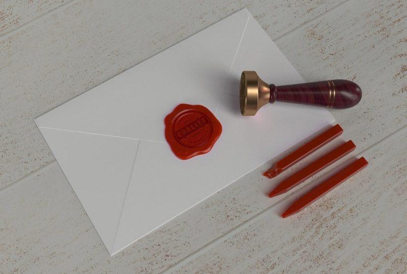 PSD Stamp Template Design