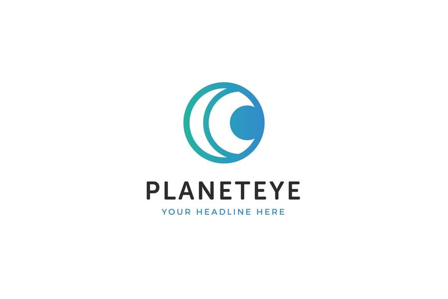 Planet Eye Logo