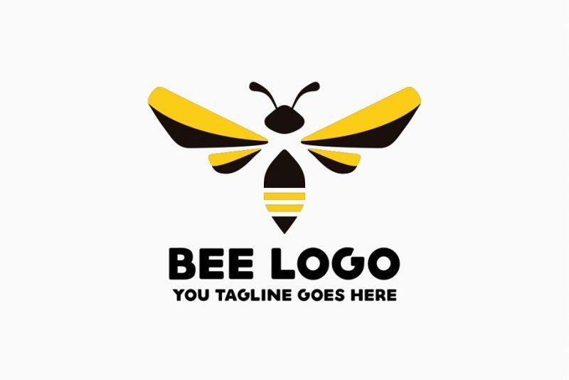 Print Ready Bee Logo Design