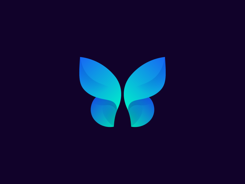Professional Butterfly Logo