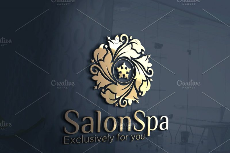 Salon Spa Logo Template