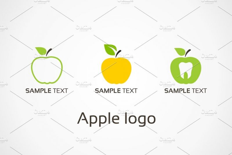 Set of Apple Logos