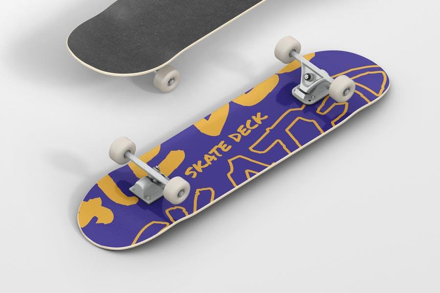 Skate Deck Branding Mockup