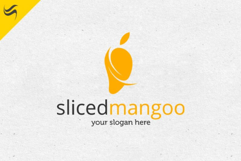 Sliced Mango Logo Design
