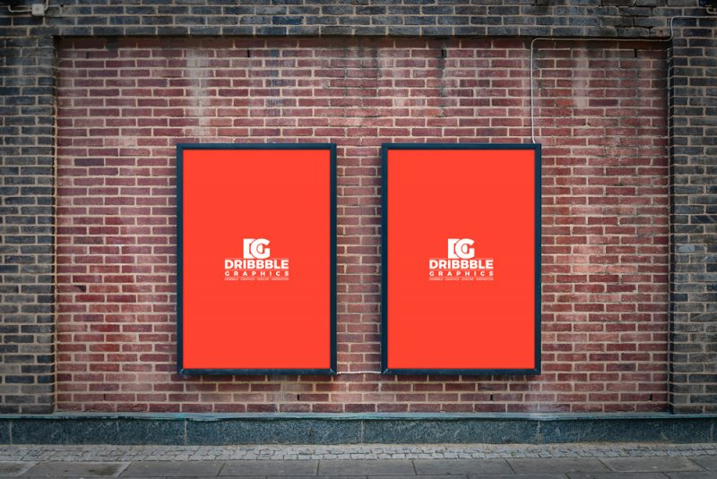 Street Wall PSD Template