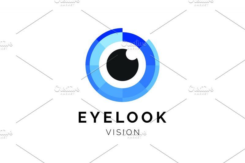 Stylish Eye Logo Identity