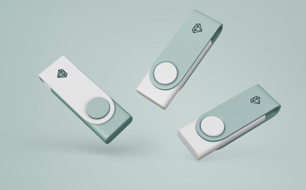 USB Stick Mockup