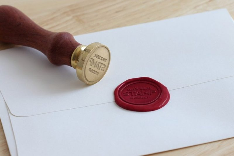 Wax Steal Stamp Mockup
