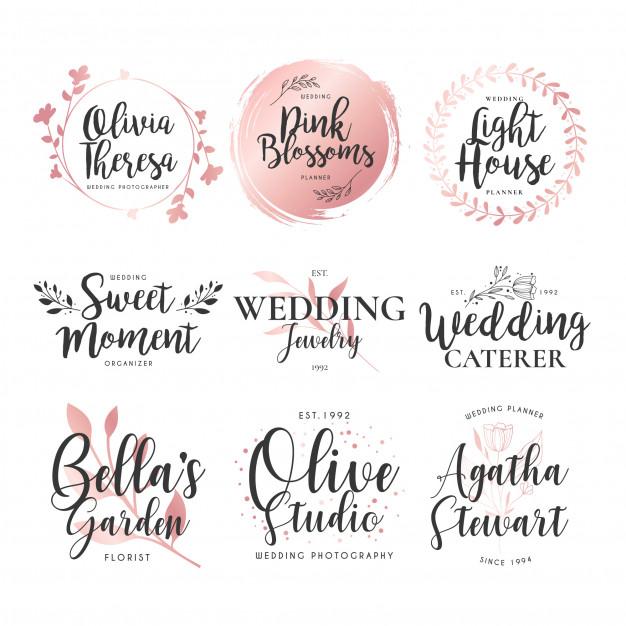 Wedding Invite Logo Design