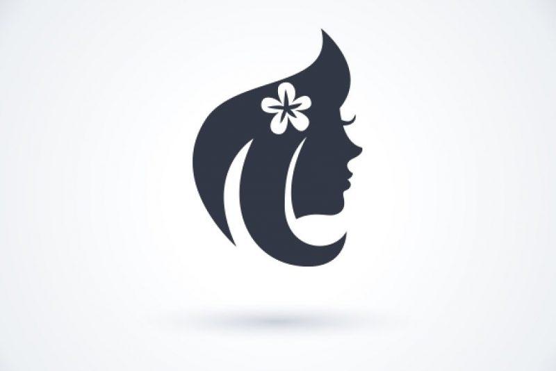 Woman Salon Logo Design