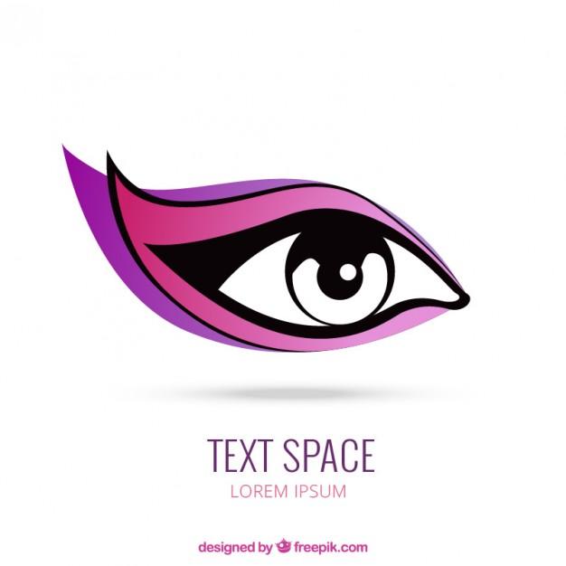 Women Eye Logo Template
