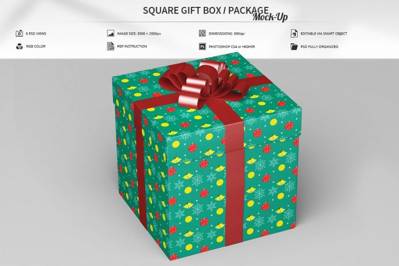 Gift Packaging Mockup Designs