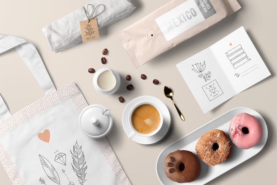 6 Professional Coffee Branding Mockups