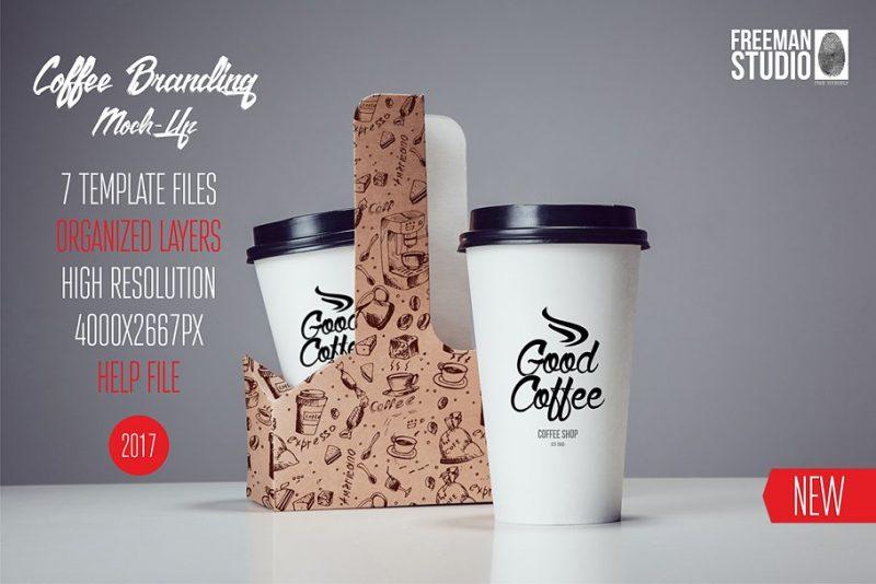 Coffee Cup Branding Mockups