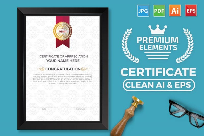 Creative Business Certificate Template
