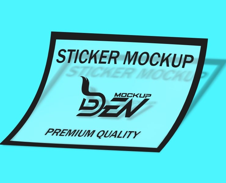 25+ Sticker Mockups PSD Collection 2020 Free Download