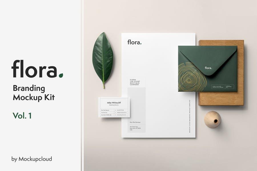 Elegant and Clean Branding Mockup