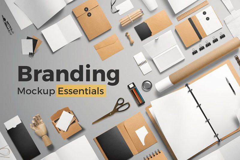 Essential Branding Mockup Download