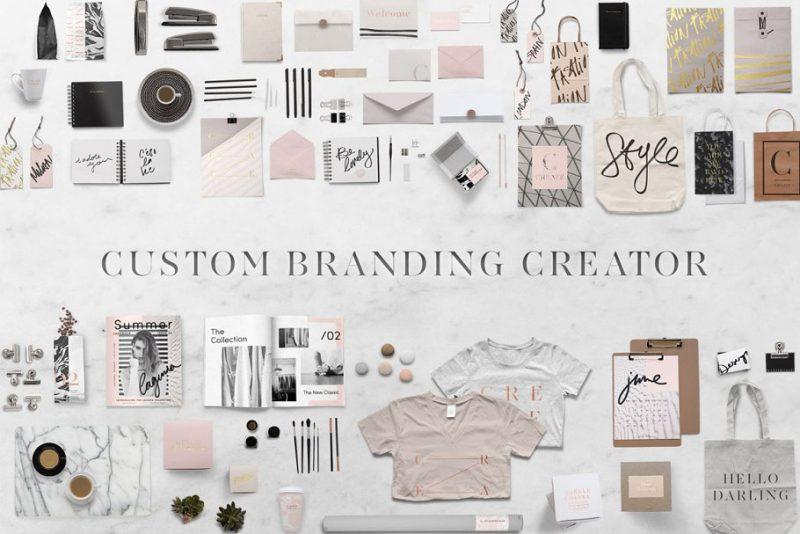 High Resolution Branding Mockup Creator
