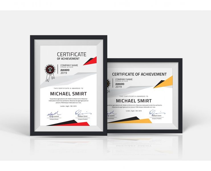 20+ Best Certificate Templates for Ai, PSD and Word