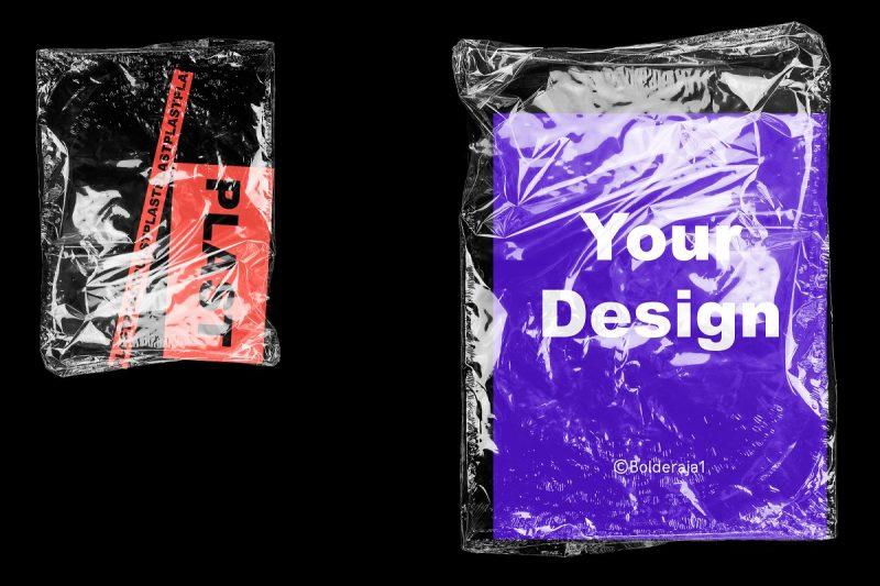 Plastic Bag Branding Mockup