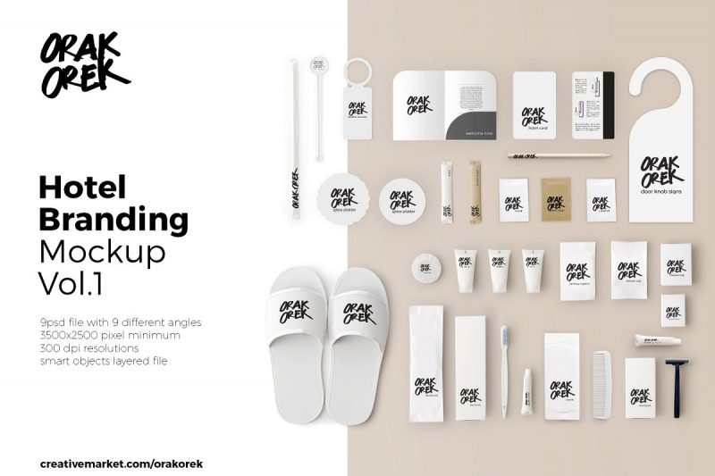 Professional Hotel Branding Mockup