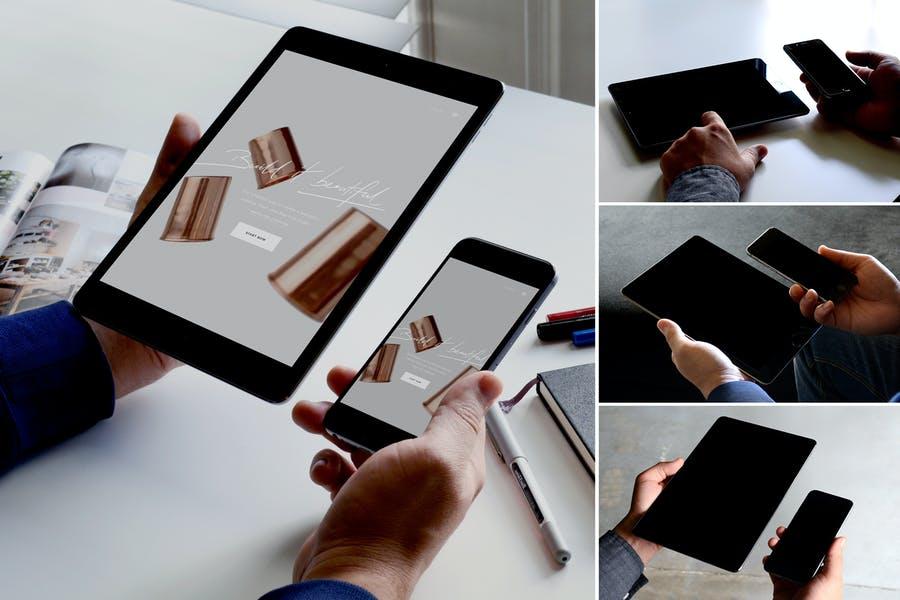 4K Multi Device Branding Mockup
