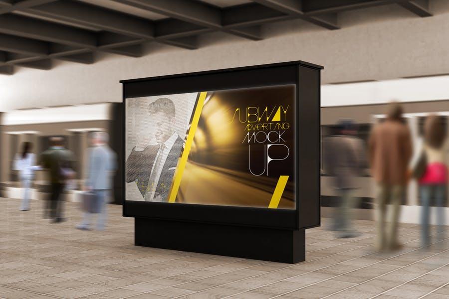 High Resolution Subway Branding Mockups