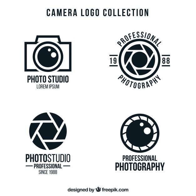 Minimal  Camera Logo Collection
