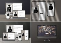 Modern-Device-Branding-Mockup