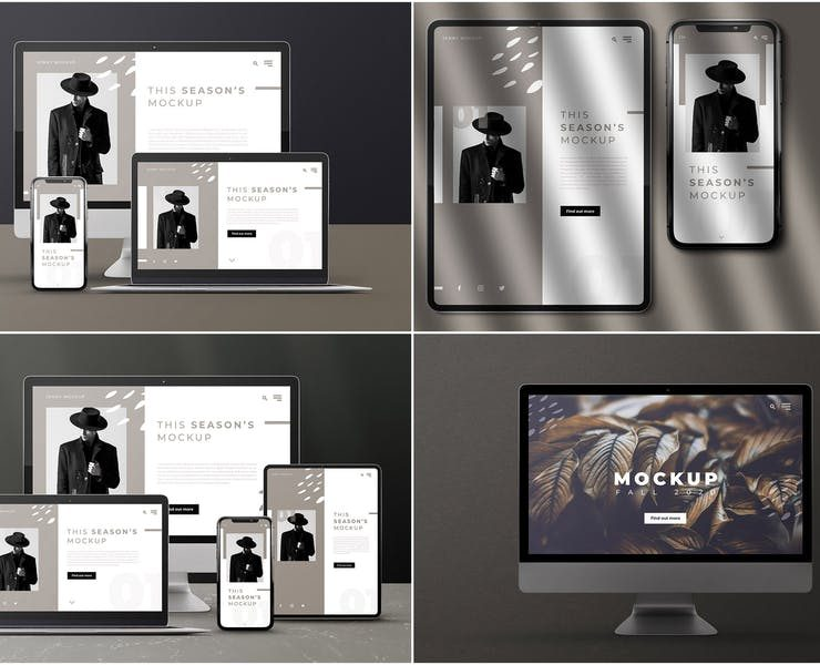 27+ Device Mockup PSD Download for Presentations