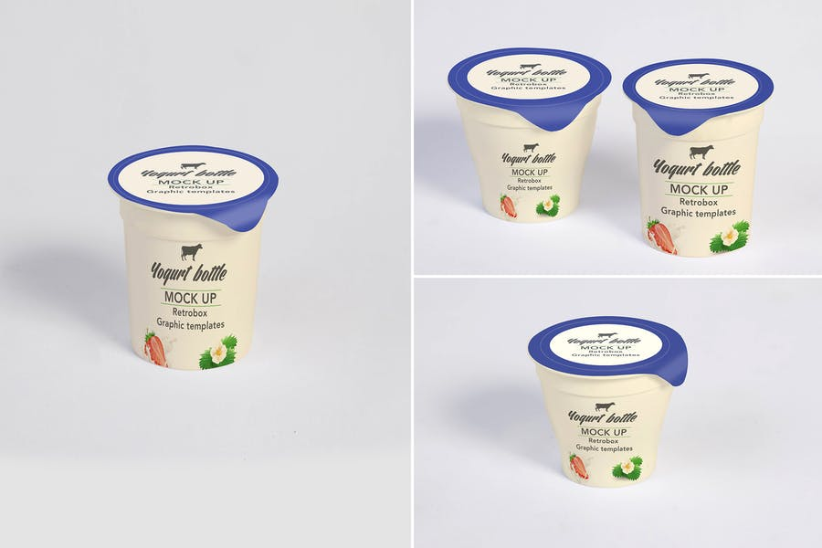 PSD Packaging Cup Mockup