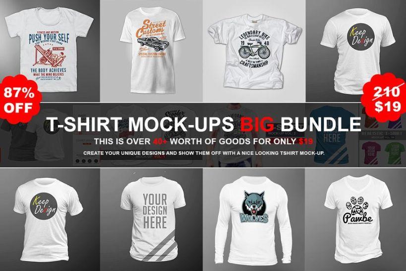 Premium T Shirt Branding Bundle