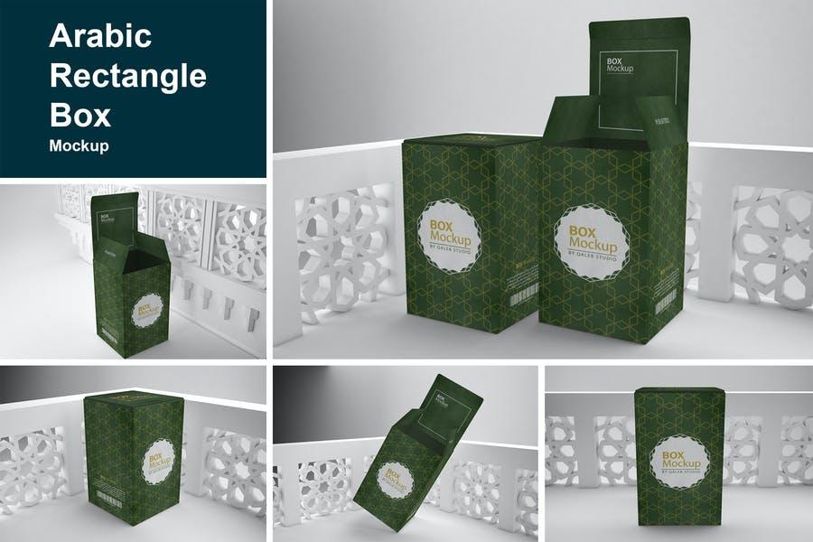 Realistic Boxes Mockup PSD