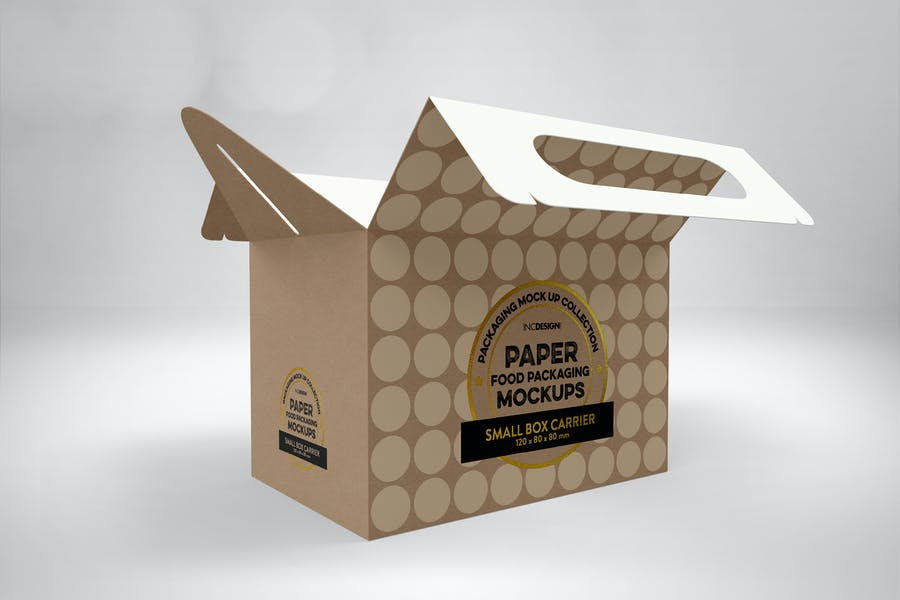 Small Paper Box for Cake Packaging