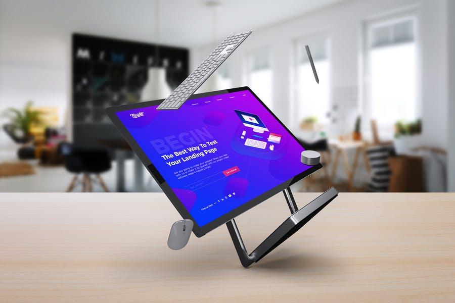 Surface Studio Branding Mockup