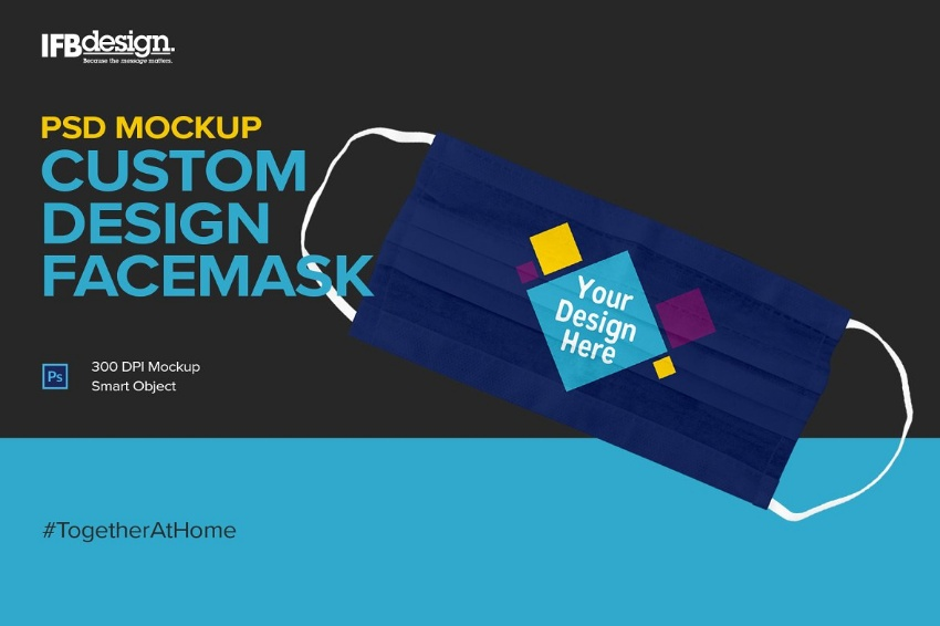 Custom Design Mask Mockup