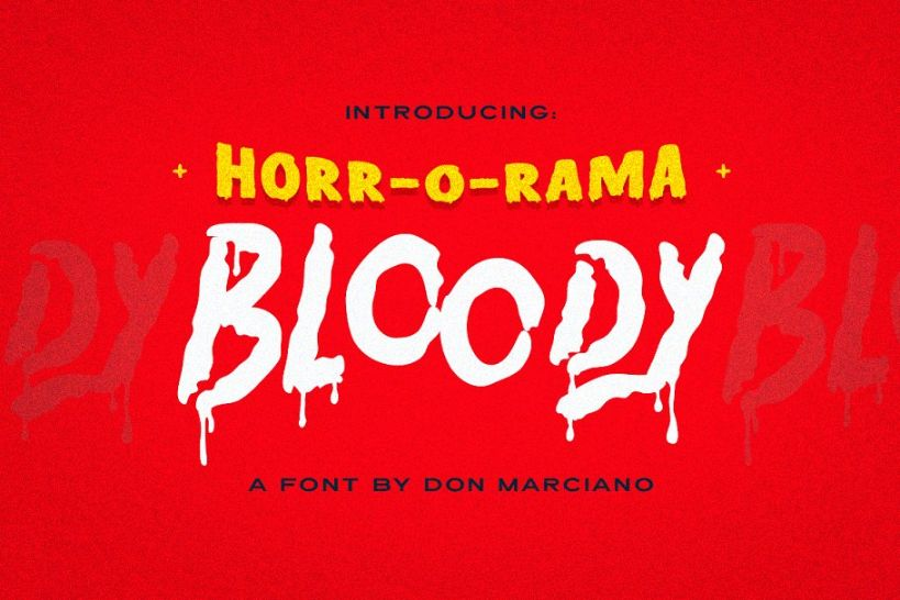 Best Bloody Scary Fonts