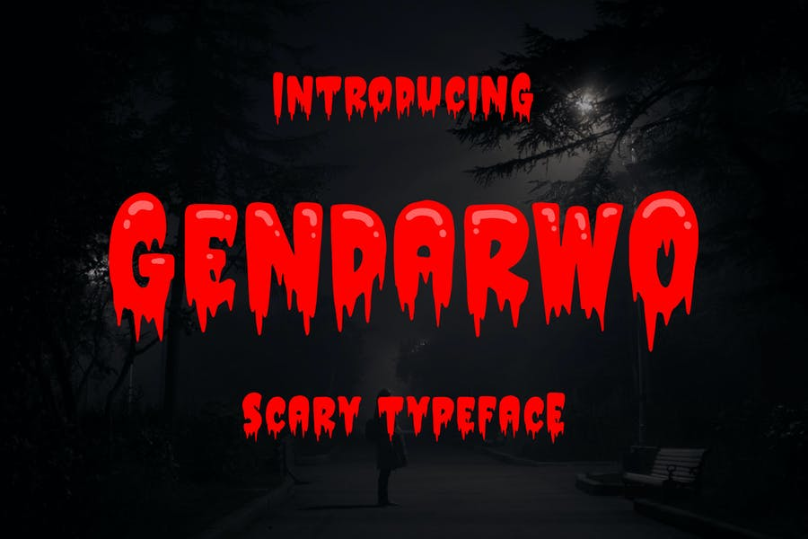 Best Scary Typeface