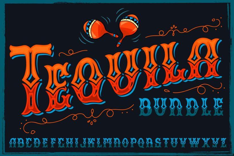Best Tequila Fonts Bundle