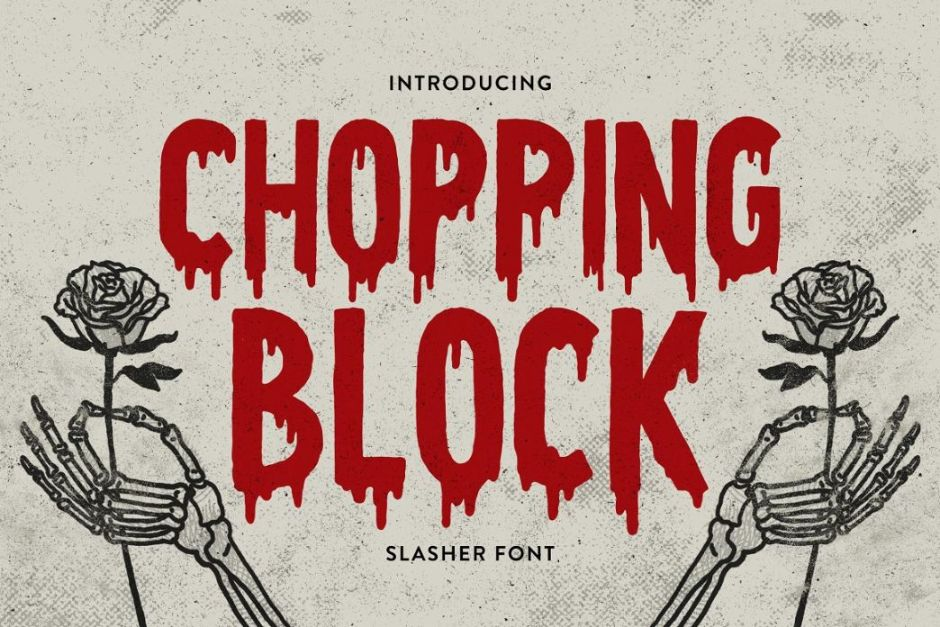 Bloody Horror Font Download