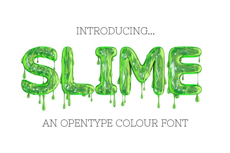 Bold Scary Fonts