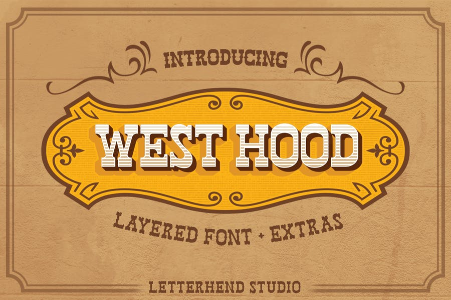 Creative Old Western Fonts