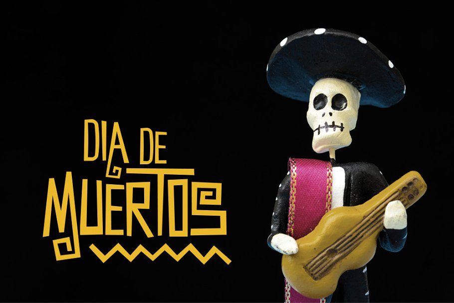 Death of the Day Mexican Fonts